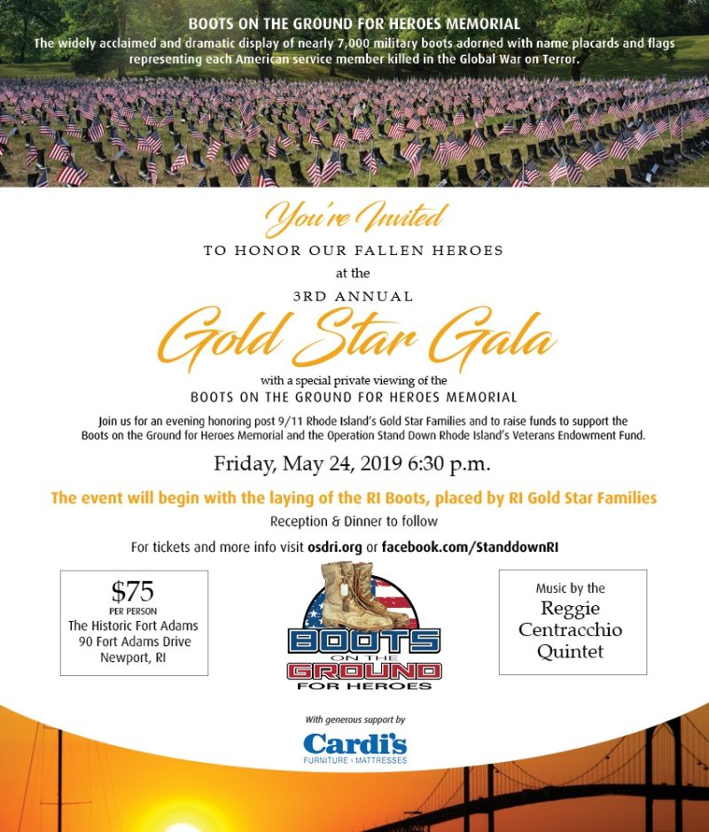 GOLD STAR GALA @ Fort Adams in Newport