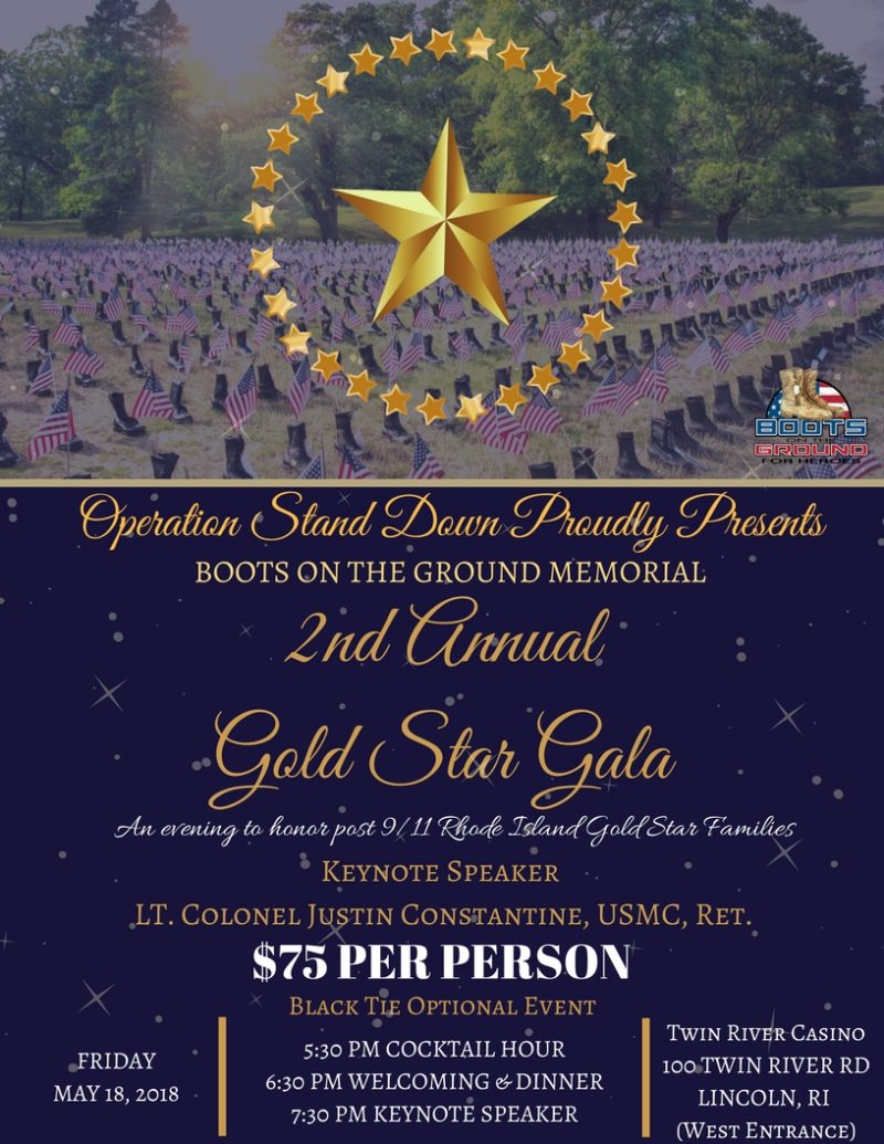 2nd Annual Gold Star Gala @ Twin River Casino | Lincoln | Rhode Island | United States