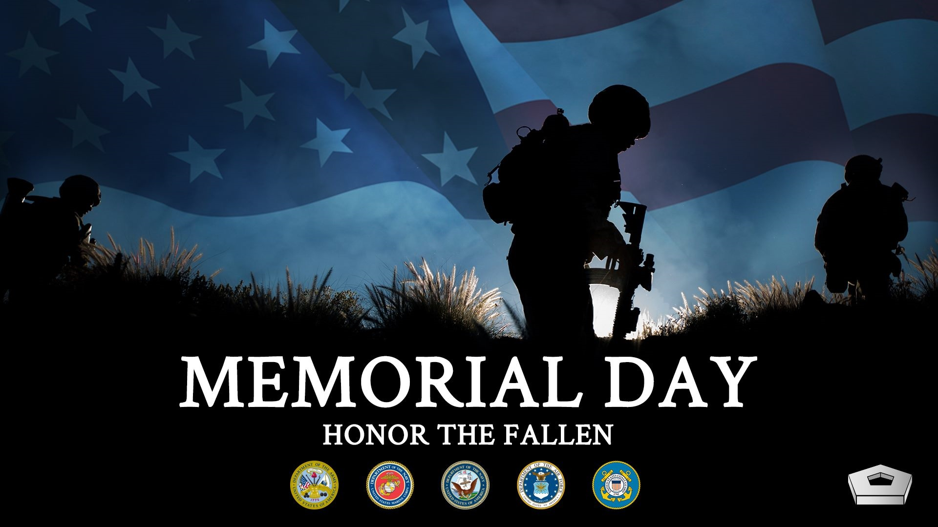 MEMORIAL DAY -MONDAY, MAY 27, 2019 @ THE UNITED STATES OF AMERICA